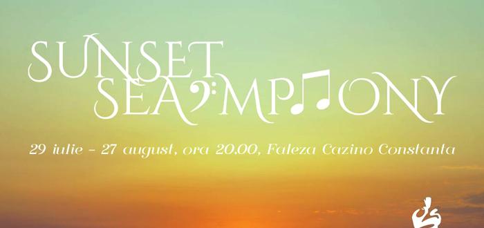 SUNSET SEA-MPHONY. Concerte simfonice cu acces gratuit, pe faleza Cazino!