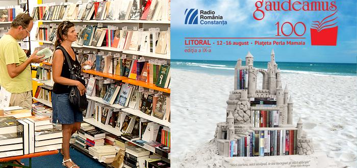 Târg de carte GAUDEAMUS LITORAL, în Piaţeta Perla din Mamaia