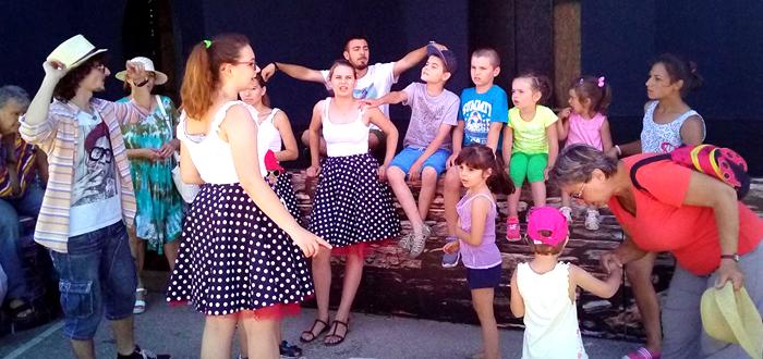 Ateliere de teatru, animaţie, facepainting şi spectacol de dans, cu trupa Zbumzzi!