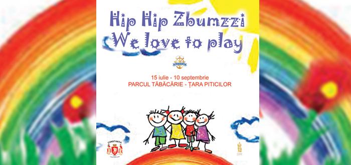 Al șaselea weekend de distracție cu Trupa Zbumzzi, în parcul Tăbăcărie