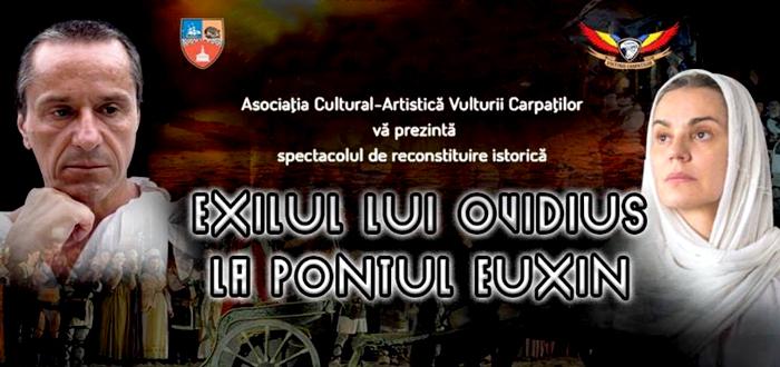 Exilul lui Ovidius la Pontul Euxin, pe plaja Modern