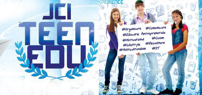 Proiect pentru elevii din Constanţa. JCI lansează programul TEEN EDU!