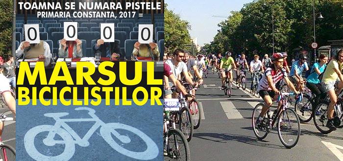 Protest, MARŞUL BICICLIŞTILOR. Sute de biciclişti vor defila pe străzile Constanţei!