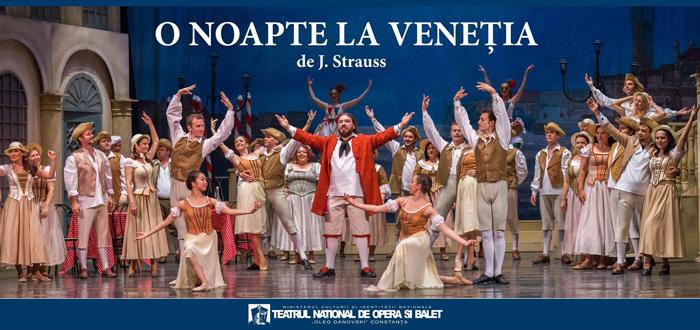 "O Noapte la Veneția, pe scena TNOB ""Oleg Danovski"""