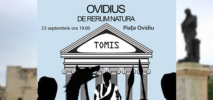 "Spectacol de coregrafie în Piaţa Ovidiu: ""Ovidius – de rerum natura"""
