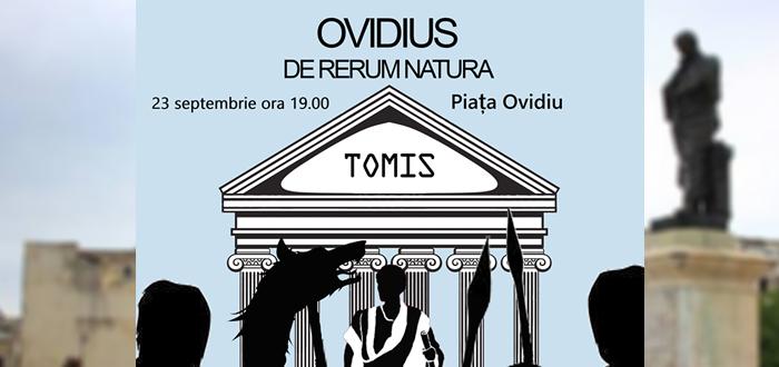 """Spectacol de coregrafie în Piaţa Ovidiu: """"Ovidius – de rerum natura"""""""