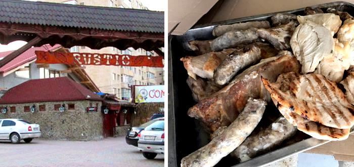 VIDEO. OPC a închis restaurantul RUSTIC. Sute de kilograme de carne au fost retrase!