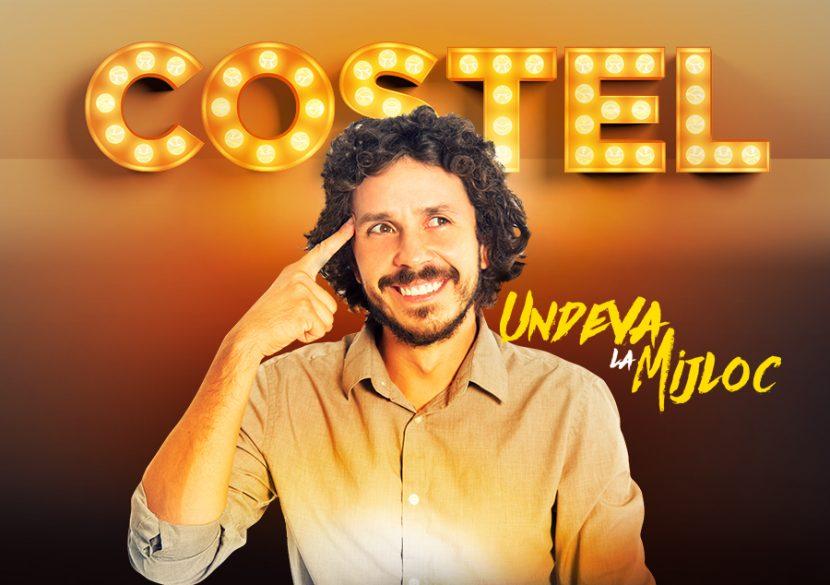 "Stand-up special! COSTEL, ""Undeva la Mijloc"", la Harlequin"