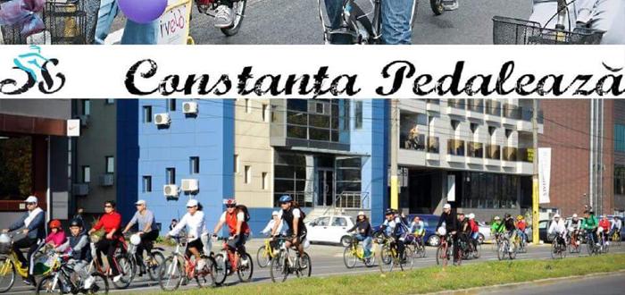 CONSTANŢA PEDALEAZĂ. Sute de biciclişti se vor plimba pe străzile oraşului
