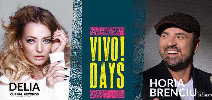 DELIA și HORIA BRENCIU. Concerte la VIVO!