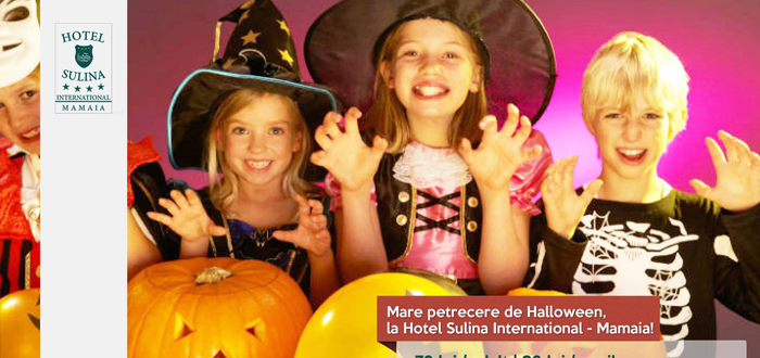 Party de Halloween la Hotel Sulina International, Mamaia