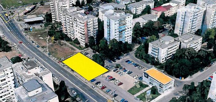 Un NOU BLOC de zece etaje va apărea în faţa clădirilor de pe bulevardul Tomis