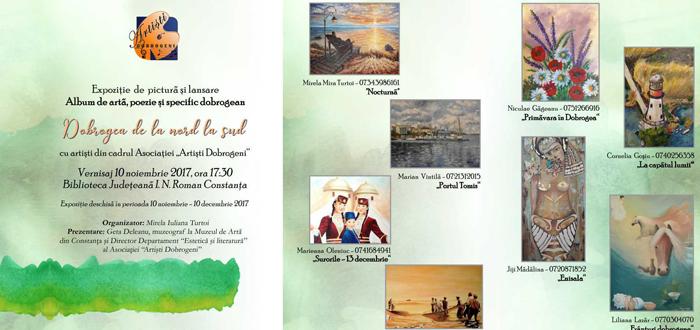 Vernisaj de pictură şi lansare album de artă, la Biblioteca Judeţeană