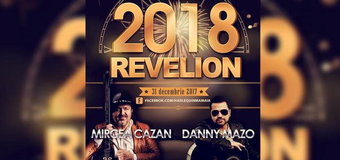 REVELION 2018 la Harlequin. Show cu MIRCEA CAZAN și DANNY MAZO!