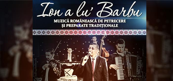 Concerte de excepție! Taraful de la Vărbilău ION A LU' BARBU, la Harlequin