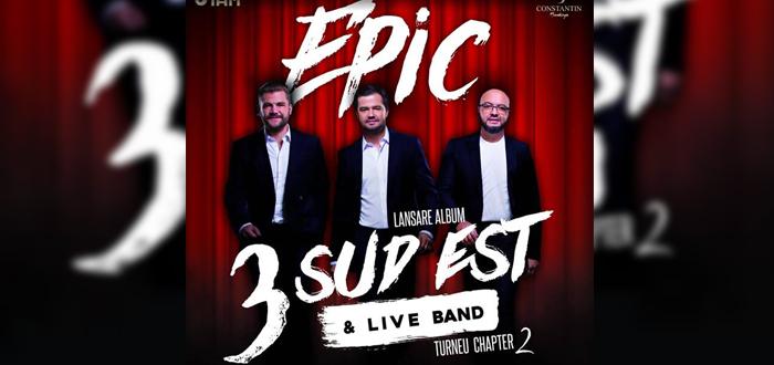 Concert şi lansare de album 3 SUD EST, la Phoenix