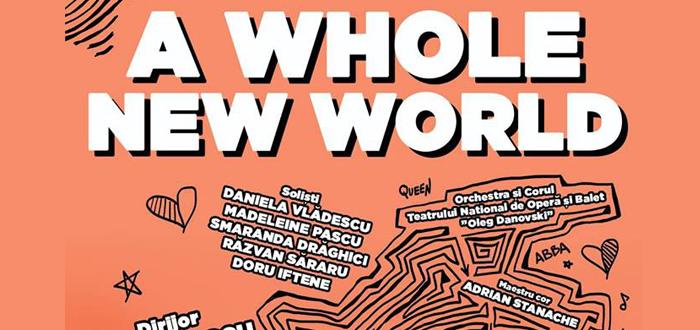 "Concert special. A WHOLE NEW WORLD, la TNOB ""Oleg Danovski"""