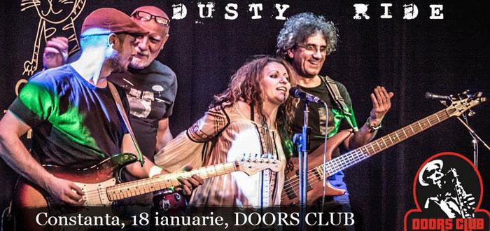 Concert Dusty Ride's Flowin' Blues, la Doors