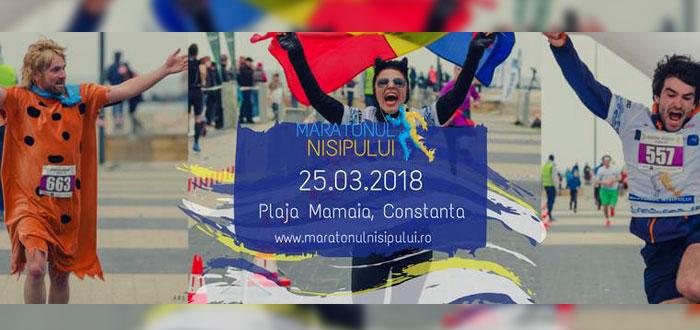 MARATONUL NISIPULUI 2018. Înscrie-te în cel mai amplu maraton din România!