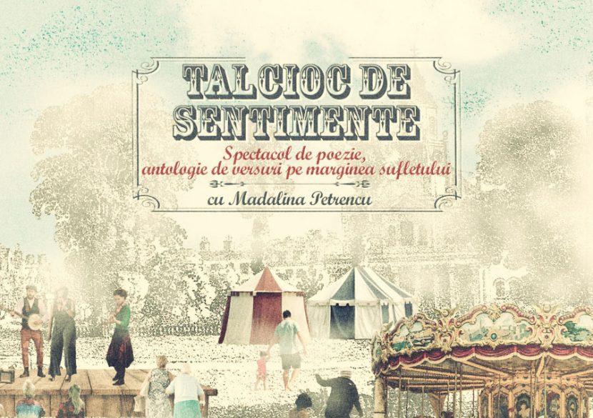 TALCIOC DE SENTIMENTE. Spectacol de poezie, la Bistro Evo