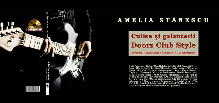 Lansare de carte. CULISE ȘI GALANTERII, de Amelia Stănescu, la Doors