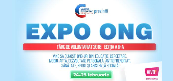 Programul de activități al EXPO ONG în acest week-end la VIVO!