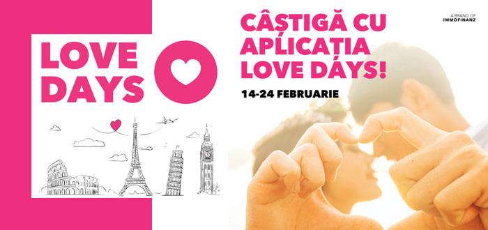 Love Days la VIVO! Primeşti o felicitare personalizată şi şansa unei vacanţe în Europa