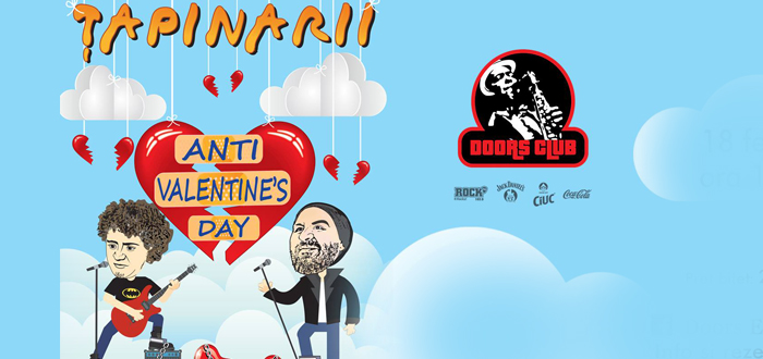 Concert Anti Valentine's Day, cu Țapinarii, la Doors Club