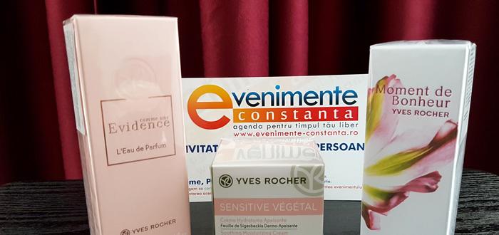 CONCURS. Câștigă unul dintre cele trei produse Yves Rocher!