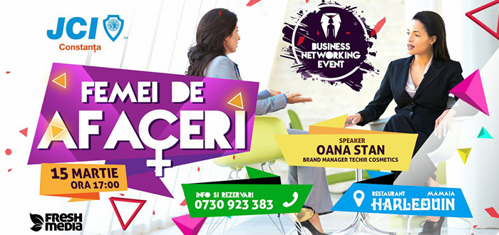 BNE Femei de Afaceri. Eveniment de business networking la Constanța
