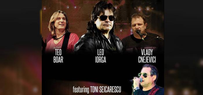 Concert Leo Iorga & Pacifica, alături de Toni Șeicărescu