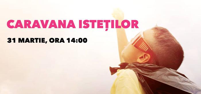 Caravana Isteților. Eveniment pentru copii, la VIVO! Constanța