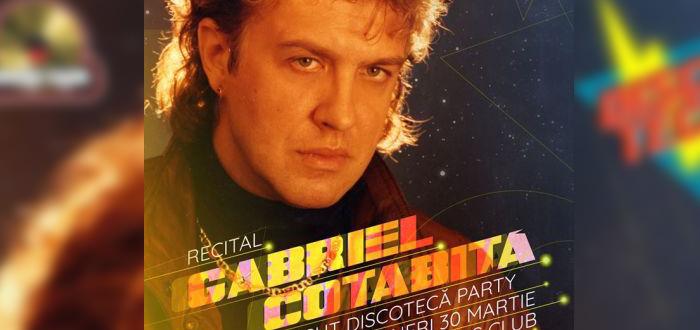 Discotecă feat. Gabriel Cotabiță. Concert la Doors