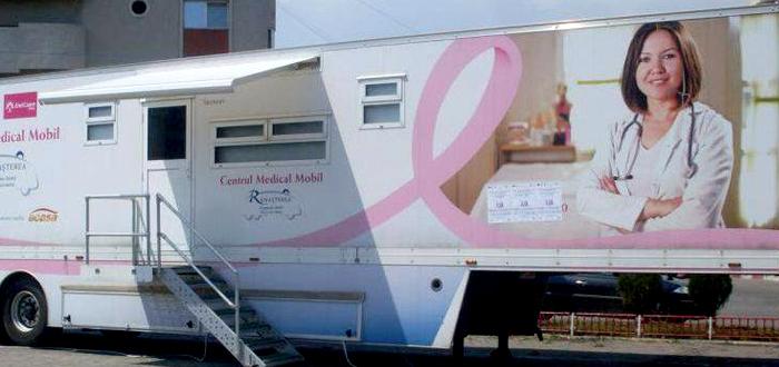 Caravana pentru depistarea gratuită a cancerului la sân, la Constanța până pe 6 aprilie