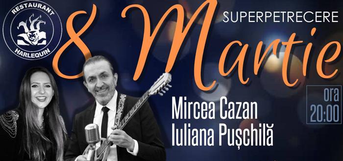 Concert Mircea Cazan și Iuliana Pușchilă, la Harlequin Mamaia