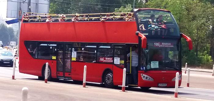 Care va fi noul traseu pentru autobuzele etajate din linia City Tour