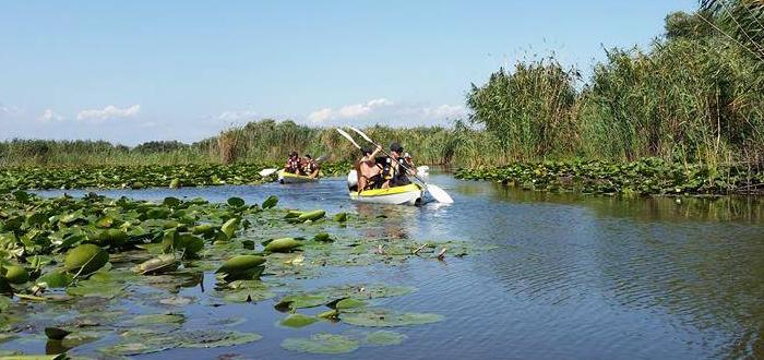 Trei zile cu caiacul în Delta Dunării (28 – 30 aprilie)
