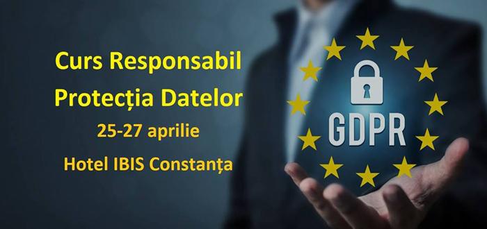 Curs Responsabil de Protecţia Datelor. Firmele, obligate să aibă sau să lucreze cu un Data Protection Officer