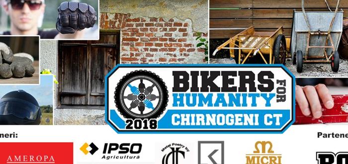 Hrubaru și bikerii din țară vin la Chirnogeni pentru a reabilita nouă case ale unor familii defavorizate