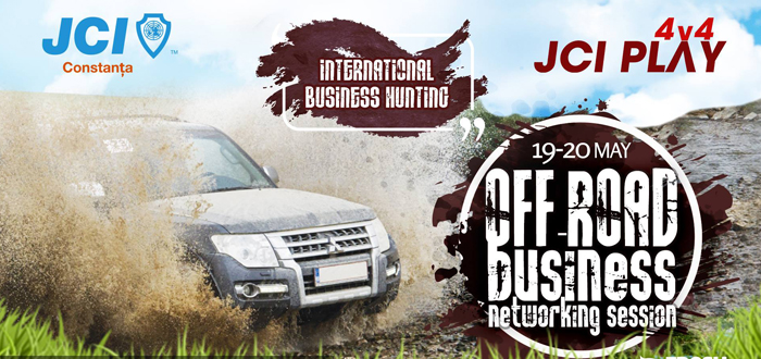Business Networking. JCI Play 4×4 revine cu două zile de Off-Road în Dobrogea!