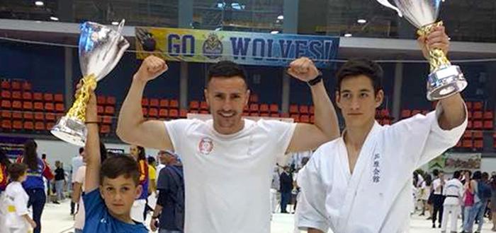 Tinerii karateka din Ovidiu: două titluri de campioni naționali și patru medalii