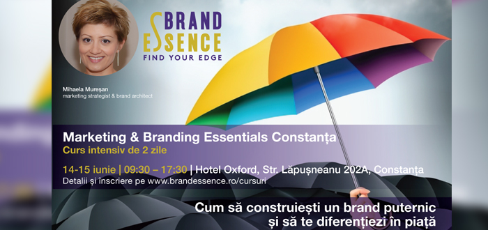 Training de Marketing & Branding Essentials Constanta