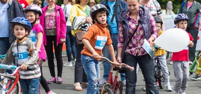 """Cupa """"Micul Biciclist"""", în Mamaia, pe faleza Radio Constanţa"""