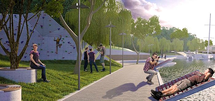 Primăria din Ovidiu va construi două parcuri noi. Vor fi dotate cu labirint de vegetație și amfiteatru natural!