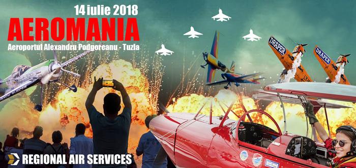 Cel mai spectaculos show aviatic de pe litoral, Aeromania revine şi în această vară