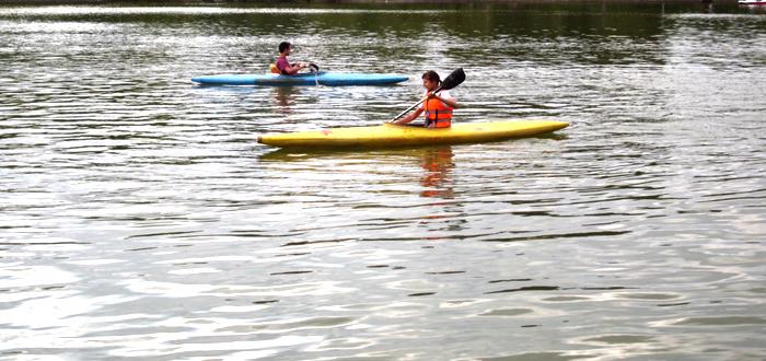 La Clubul Sportiv Ovidiu a fost înființată și o secție de caiac-canoe