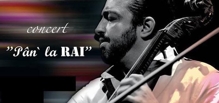 """""""Pân' la Rai"""". Concert gratuit în Piața Ovidiu cu violoncelistul Adrian Naidin"""