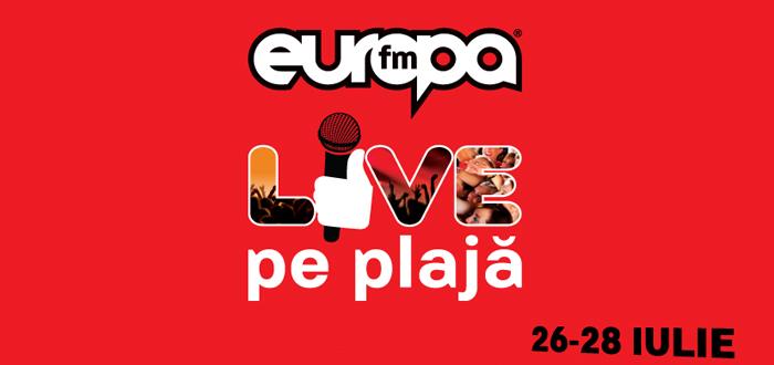 Cine va cânta în această vară la Europa FM Live pe Plajă