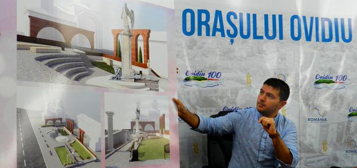 Primăria din Ovidiu celebrează Centenarul inaugurând un ansamblu statuar și lansând un film și o carte