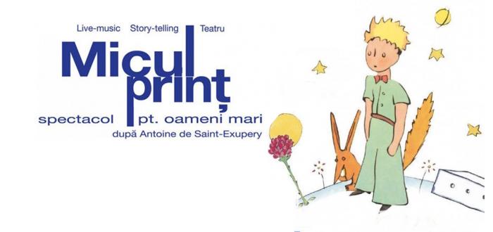 MICUL PRINȚ, un spectacol pentru oameni mari, la Casa de Cultură Constanța